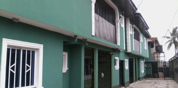 RENTED: 3BEDROOM FLAT: NEW HOUSE @ ALAMUTU ESTATE, FAGBA, LAGOS STATE